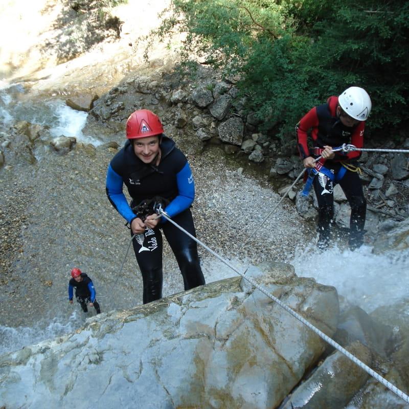 Canyoning, Canyon des Écouges, partie basse