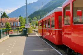 Gare du Montenvers à Chamonix