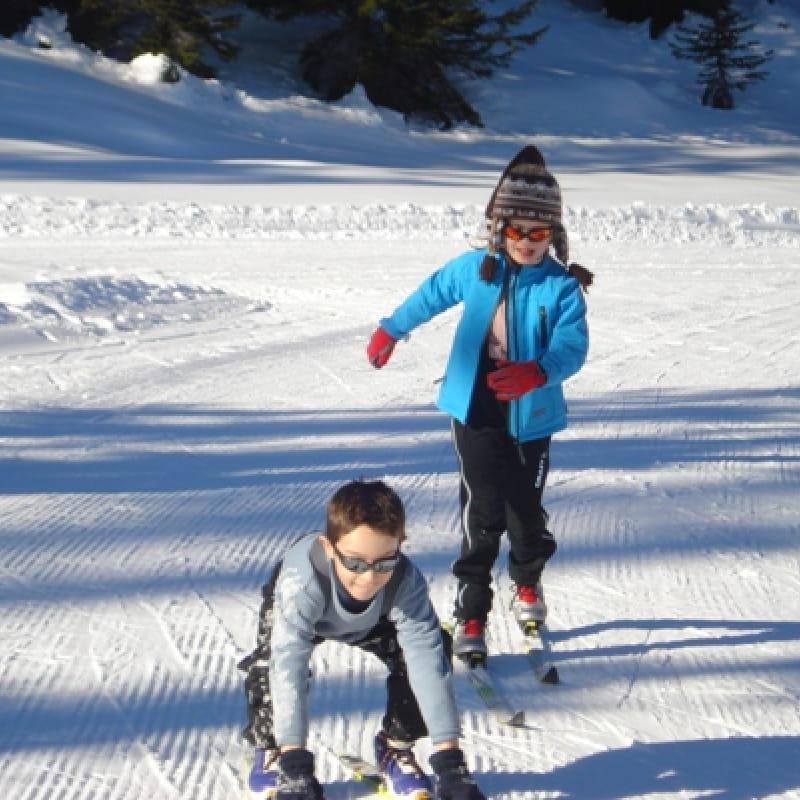 cours débutant ski de fond