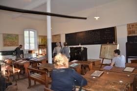 Salle de classe 1900 reconstituée