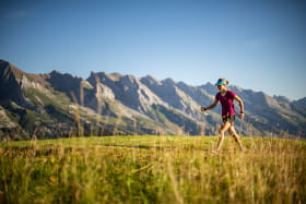 fast hiking
