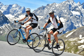 Week-end vélo de route Chez Bob
