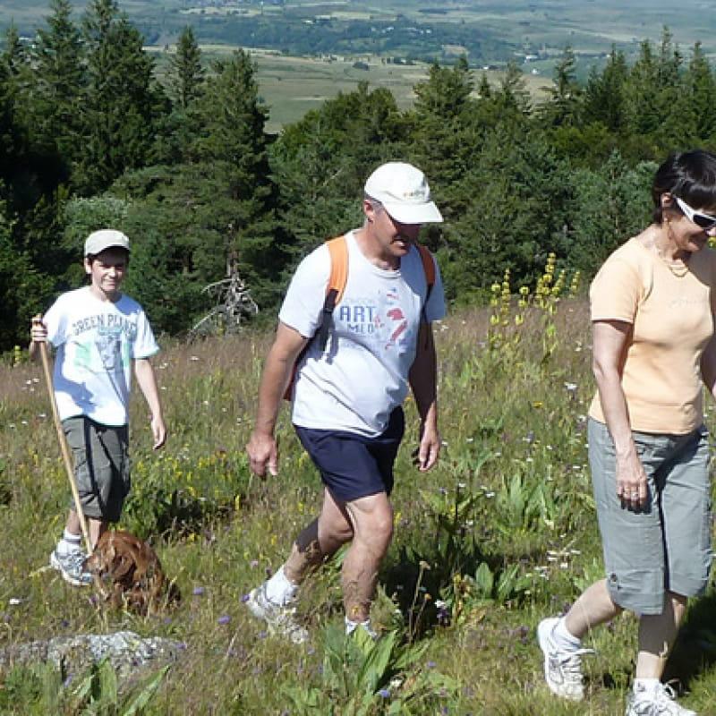 Bureau des guides d'Auvergne - Randonnée pédestre
