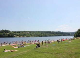 Base nautique et de loisirs du lac d'Aubusson d'Auvergne