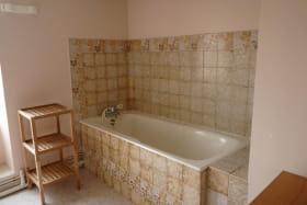 Gite du Bourg de la guillermie, salle de bain