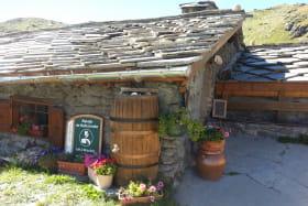 à Val Cenis-Termignon, le refuge de Bellecombe