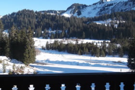Vue balcon hiver