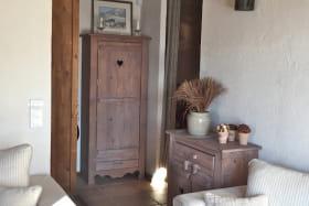 Chalet vieux bois - Accès chambres