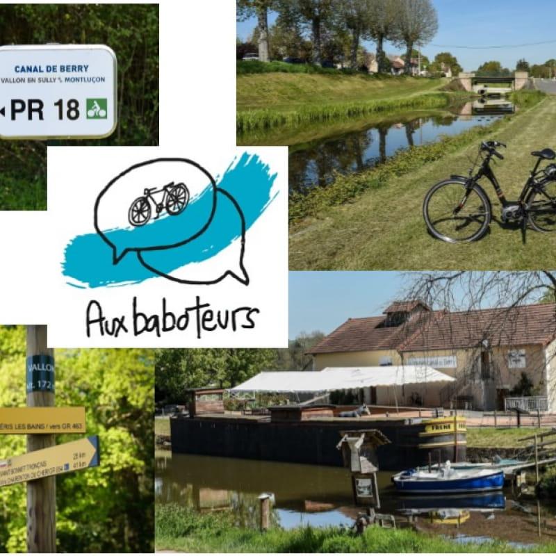 Aux Baboteurs - Location de cycles au fil du canal