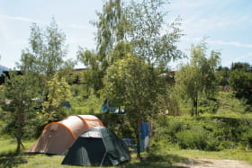 Camping 3* La Buidonnière à Aussois en été