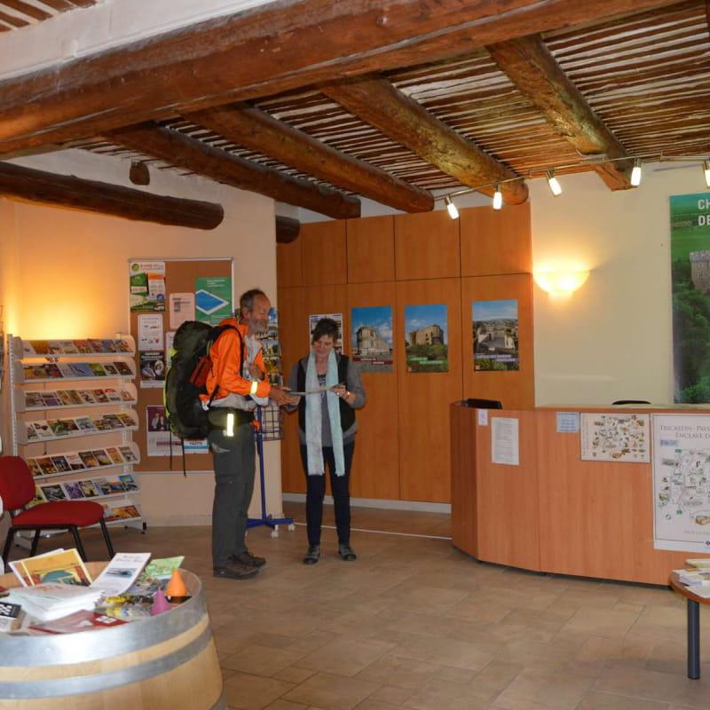 Office de Tourisme Drôme Sud Provence - Accueil de Suze la Rousse