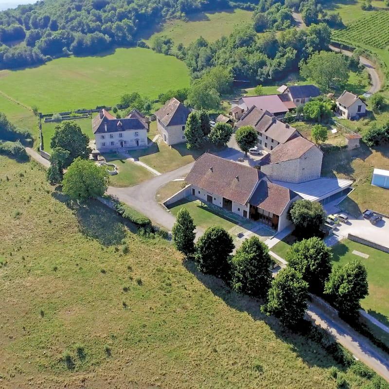La Maison d'Izieu - vue aérienne