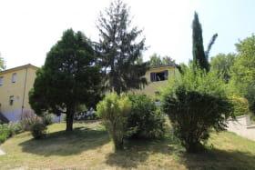 Gite 'La Vautière' à Saint-Symphorien-D'Ozon (Rhône, Sud de Lyon) : la propriété.