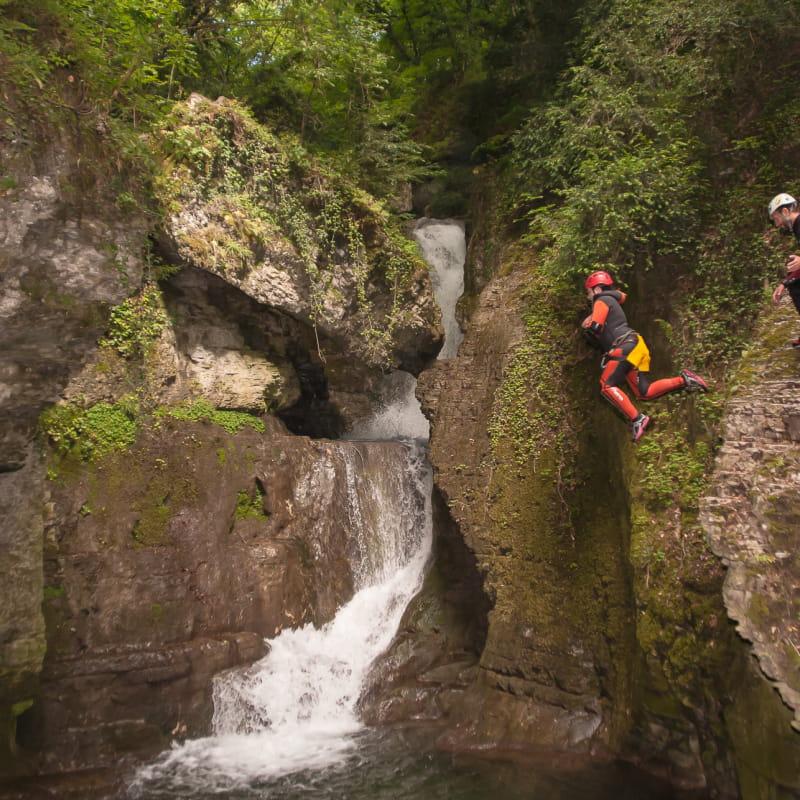 Canyoning, Le Canyon du Furon avec Vercors Aventure
