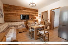 Joli appartement cosy style montagne au coeur de la station d'Aussois.