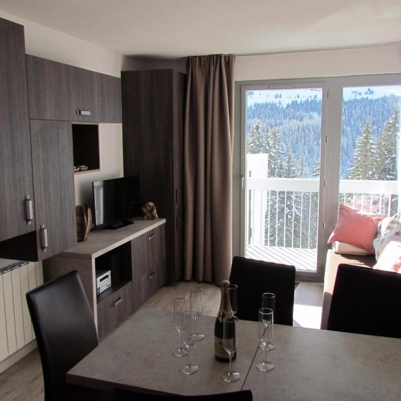 Appartement Haute Savoie station FLAINE Grand Massif 6 personnes Mont Blanc