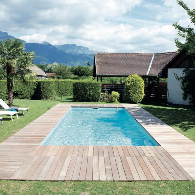 Gîte vu de la piscine