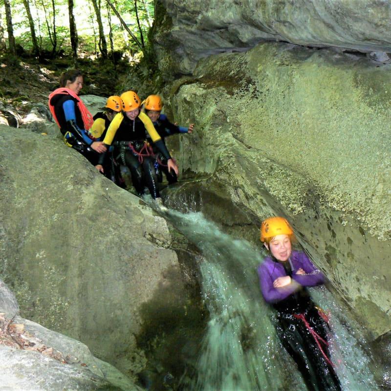 Canyon en famille avec Trekycimes