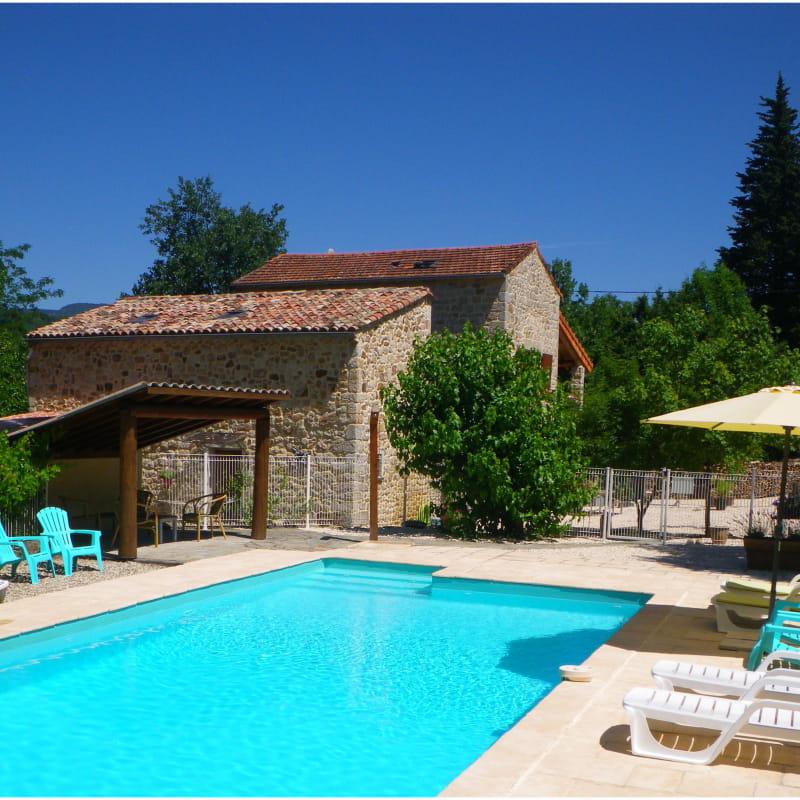 Maison Le Corbery à Largentière (Ardèche, France)