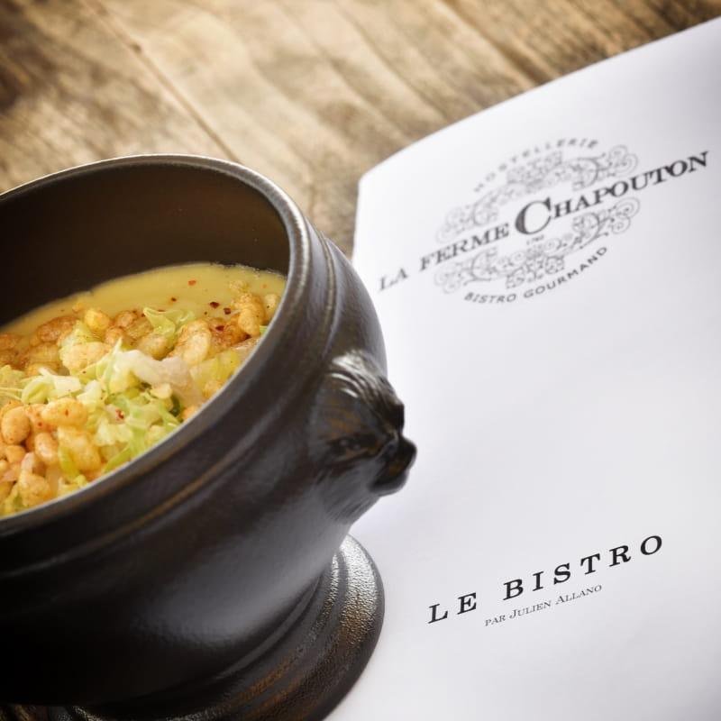 Carte Bistro signée par le Chef Julien ALLANO - Bistro Chapouton