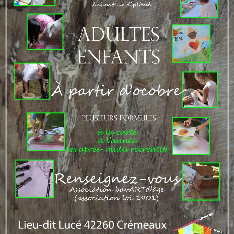 bavART d'âge - Atelier Les Murs de couleurs