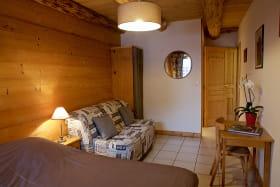 Chambre 1 à la ferme du Mont-Blanc