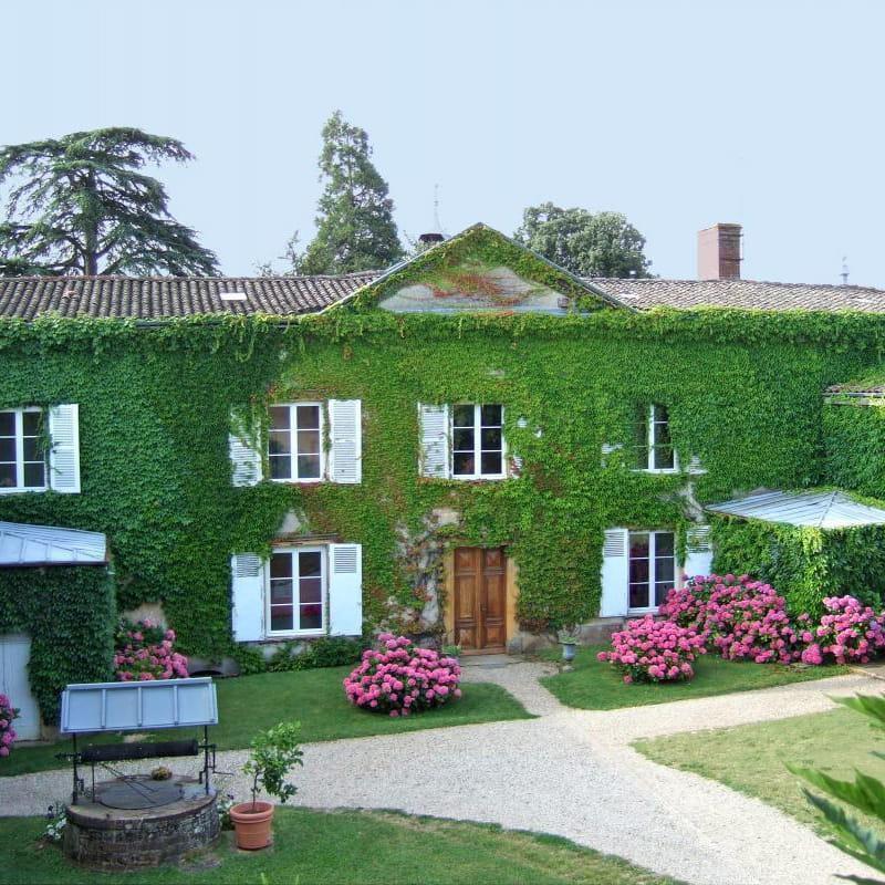 Chambres d'hôtes du Château de Buffavent à DENICE dans le Rhône.