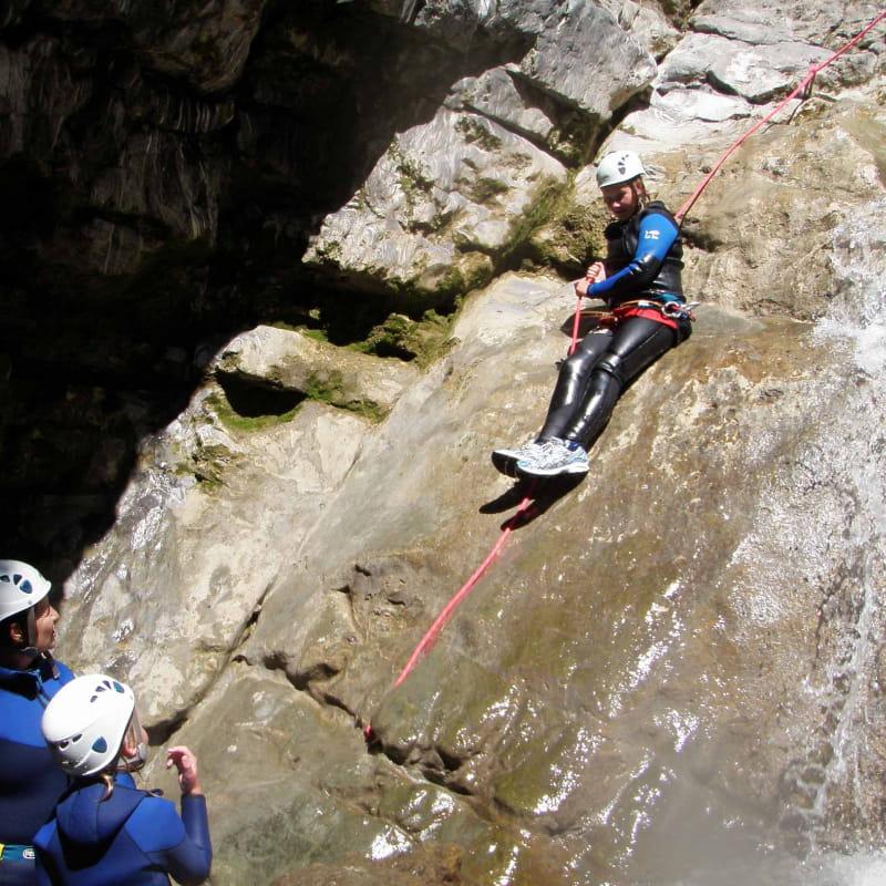 toboggan du canyon de Montmin