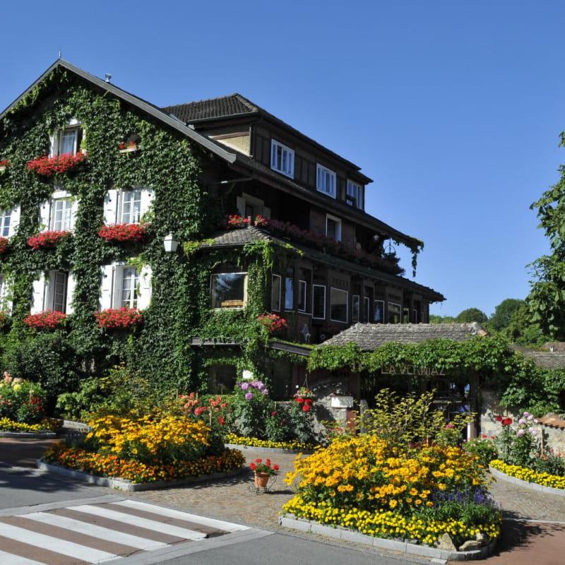 Hôtel La Verniaz - façade
