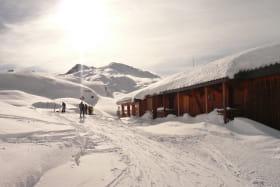 Refuge de l'Etendard - saison hivernal