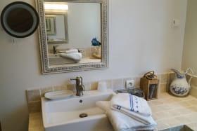 salle de bains - double lavabos douche à l'italienne- WC séparés-