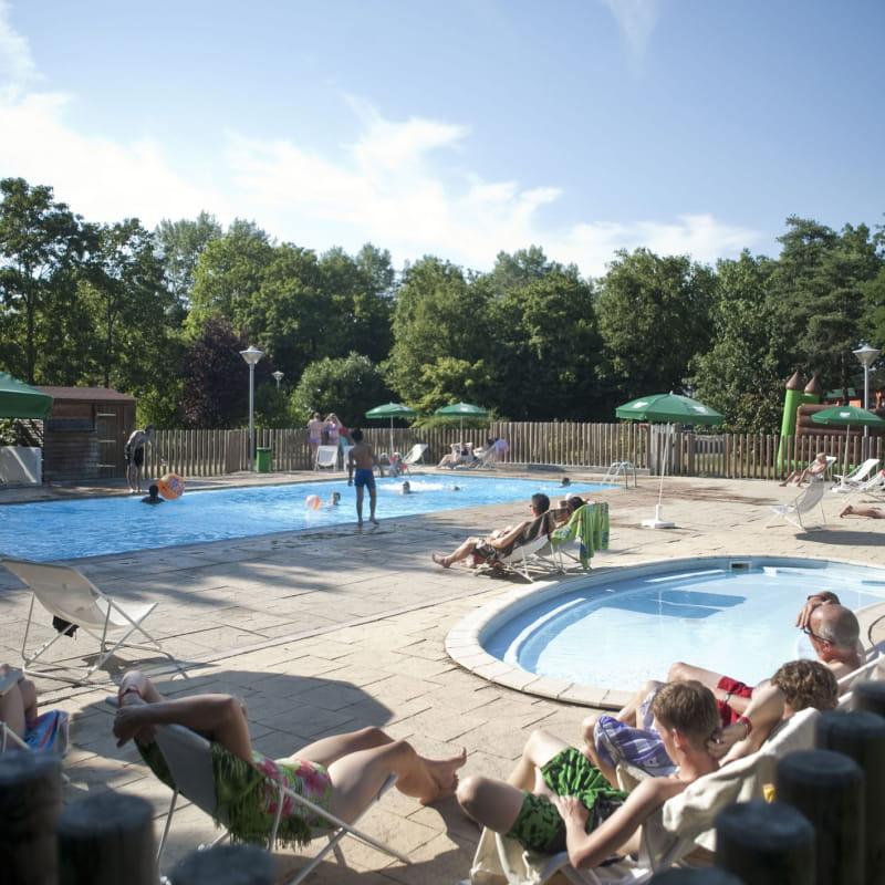 Camping de Lyon - La piscine