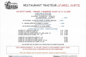 Restaurant le Grill Subtil