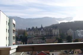 Location 2 étoiles aixlesbains Maclet vue du balcon