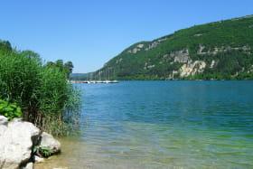 Vue Lac de Nantua