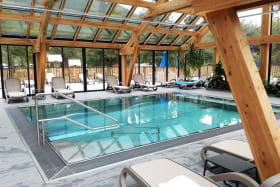 espace bien-être la Nublière piscine