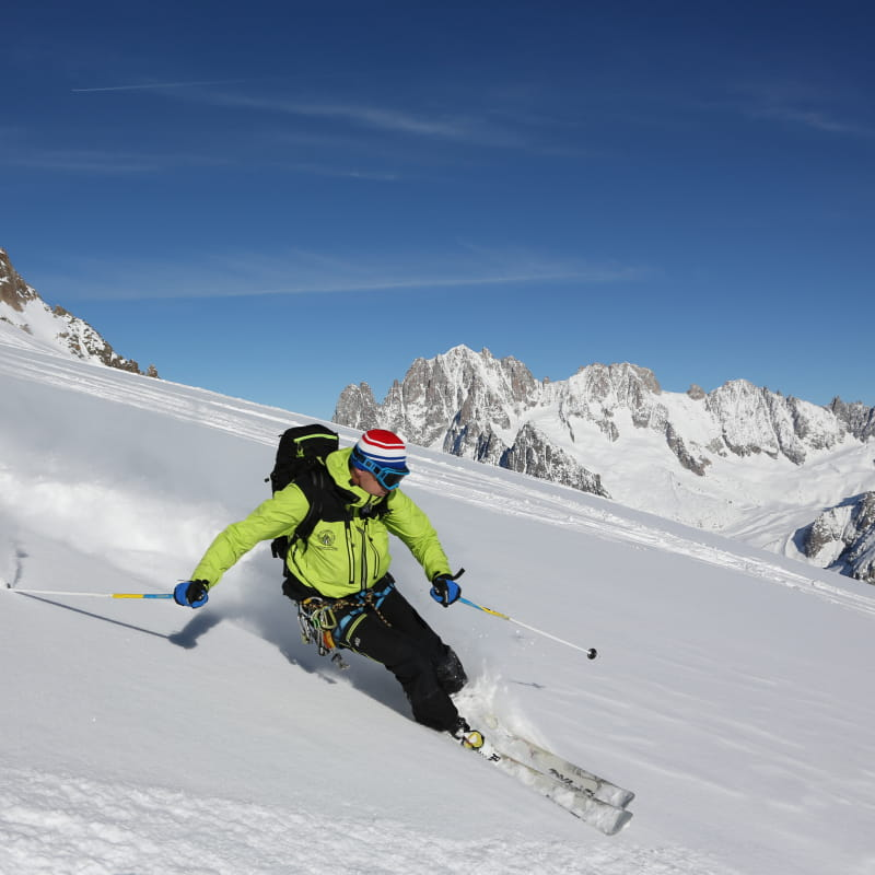 Vallee Blanche Cie des Guides de Chamonix
