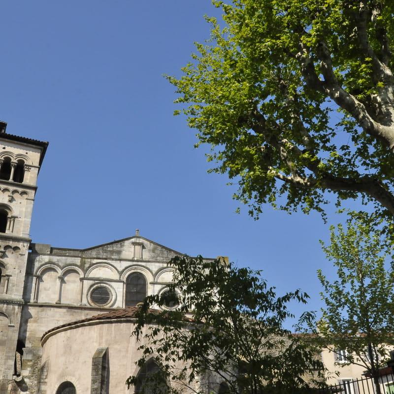 Ancienne abbaye Saint-André-le-Bas