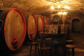 Gîte La Côte du Py à Villié-Morgon (Rhône - Beaujolais) : le caveau, lieu de dégustation.