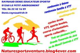 Randonnée VTT avec Denis Raynaud