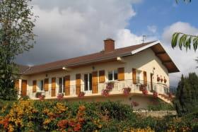 Gîte La Côte du Py à Villié-Morgon (Rhône - Beaujolais) : gîte à l'étage.