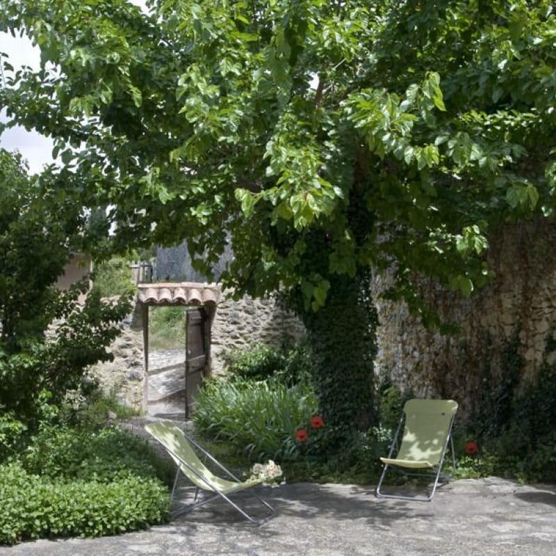 Cour et jardin privatif