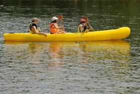 Activités nautiques - plan d'eau de St-Anthème