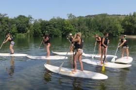 Stand Up Paddle avec Cap 07 canoë