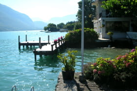 vue lac ponton de la terrasse