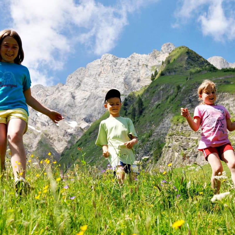 Séjour montagne en famille dans le Val d'Arly