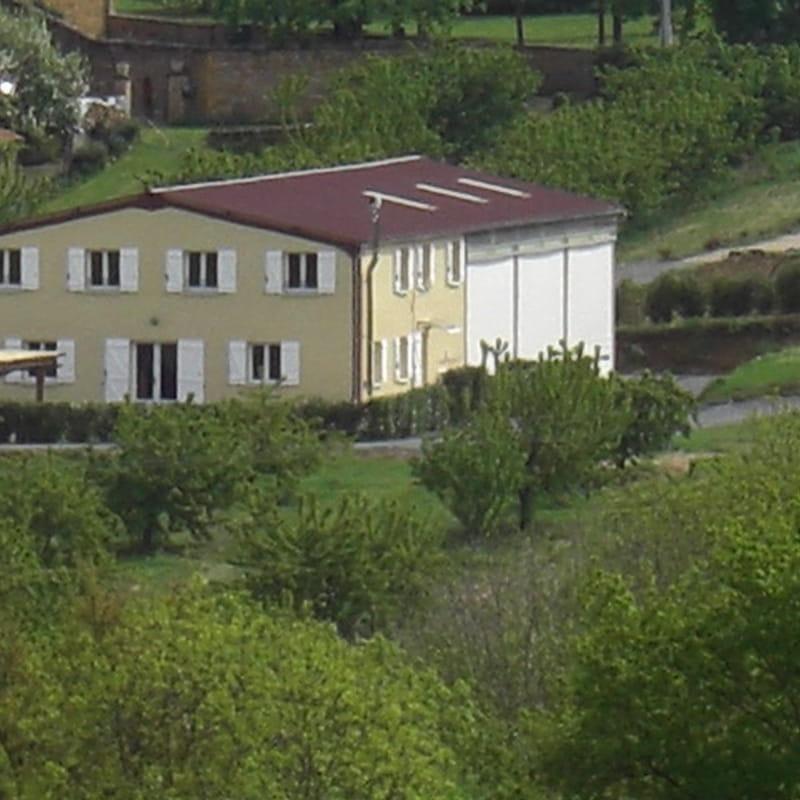Gîte de groupe Pierres Dorées à Saint-Germain-sur-L'Arbresle (Rhône-Beaujolais)
