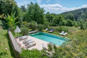 Piscine au Domaine du Fayet (Sanilhac, Ardèche)