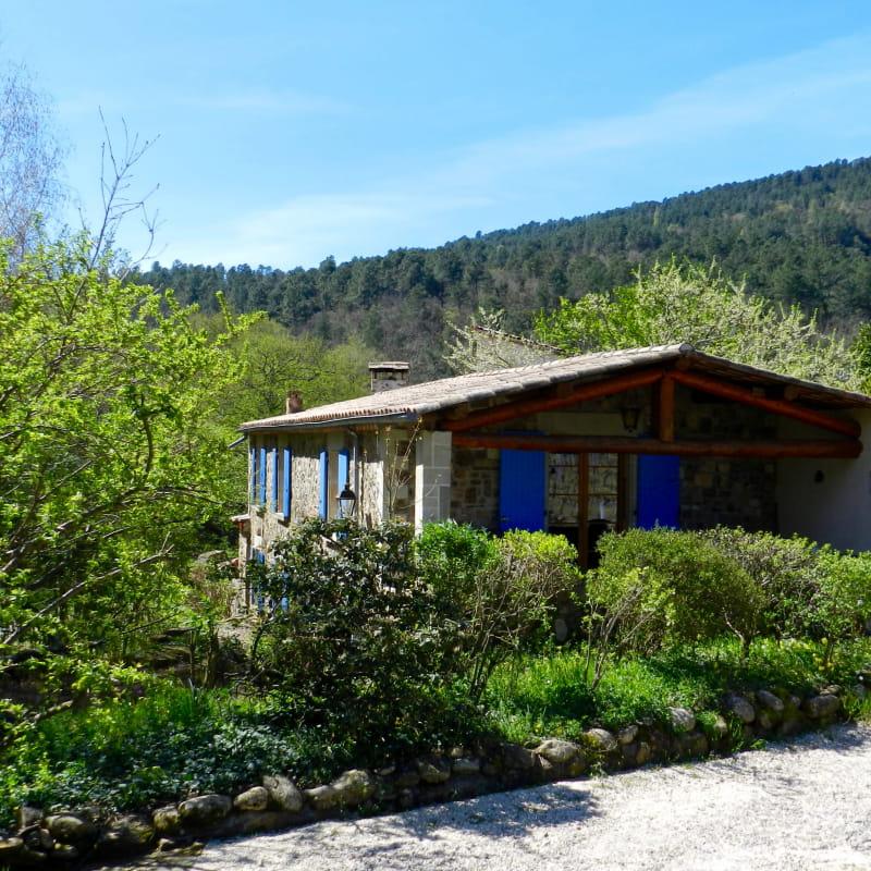 Gîte La Clède au Moulin de Lande à Chassiers (Ardèche, France)