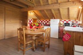 La salle à manger - cuisine
